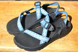 パックラフト用レンタルサンダルと濡れても良い靴について